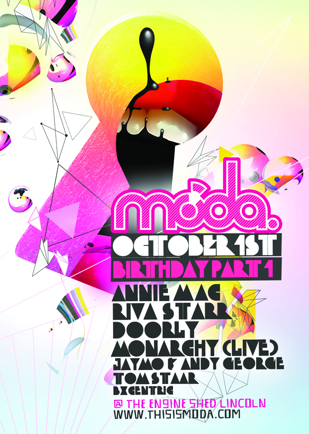 Competitions: MODA ft Annie Mac, Riva Starr & Doorly