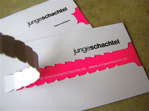 Top 10 creative business cards faux magazine share on colourmoves