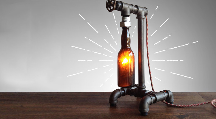 beer-bottle-lamps