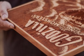 Spacewolf's Awesome Laser Engraved Movie Posters