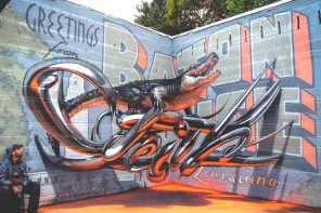 3D Graffiti From Odeith