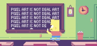 The Simpsons Pixel Art